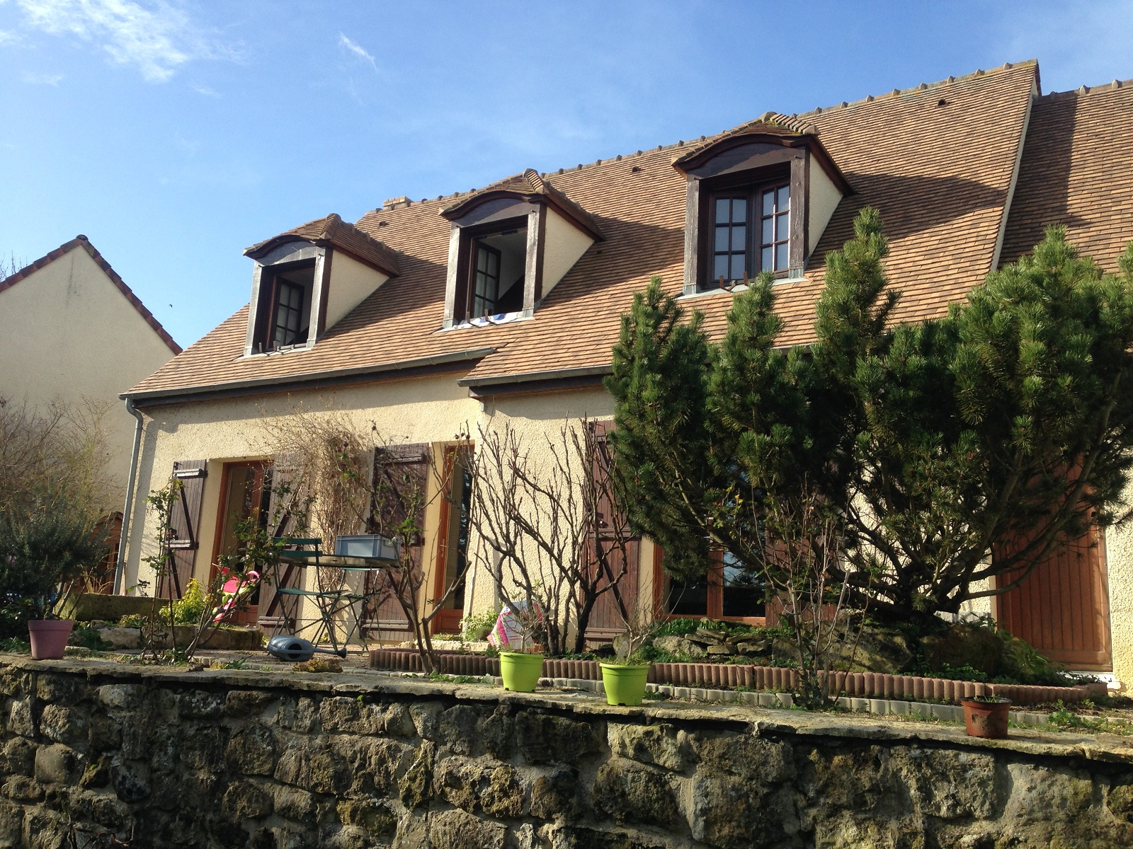 Vente appartement en tage lev avec 3 chambres orgeval for Maison traditionnelle 78