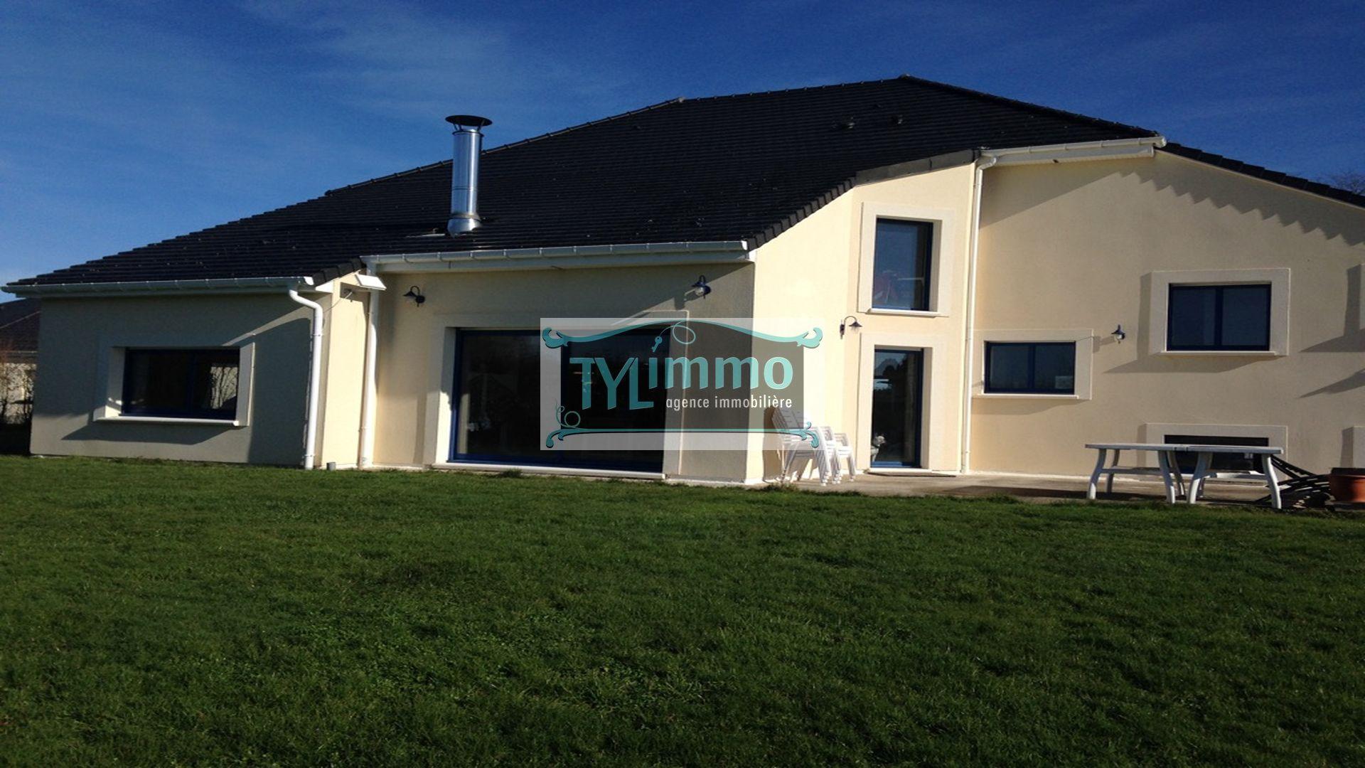 Rouen ventes a vendre maison contemporaine mandeville for Vente maison moderne