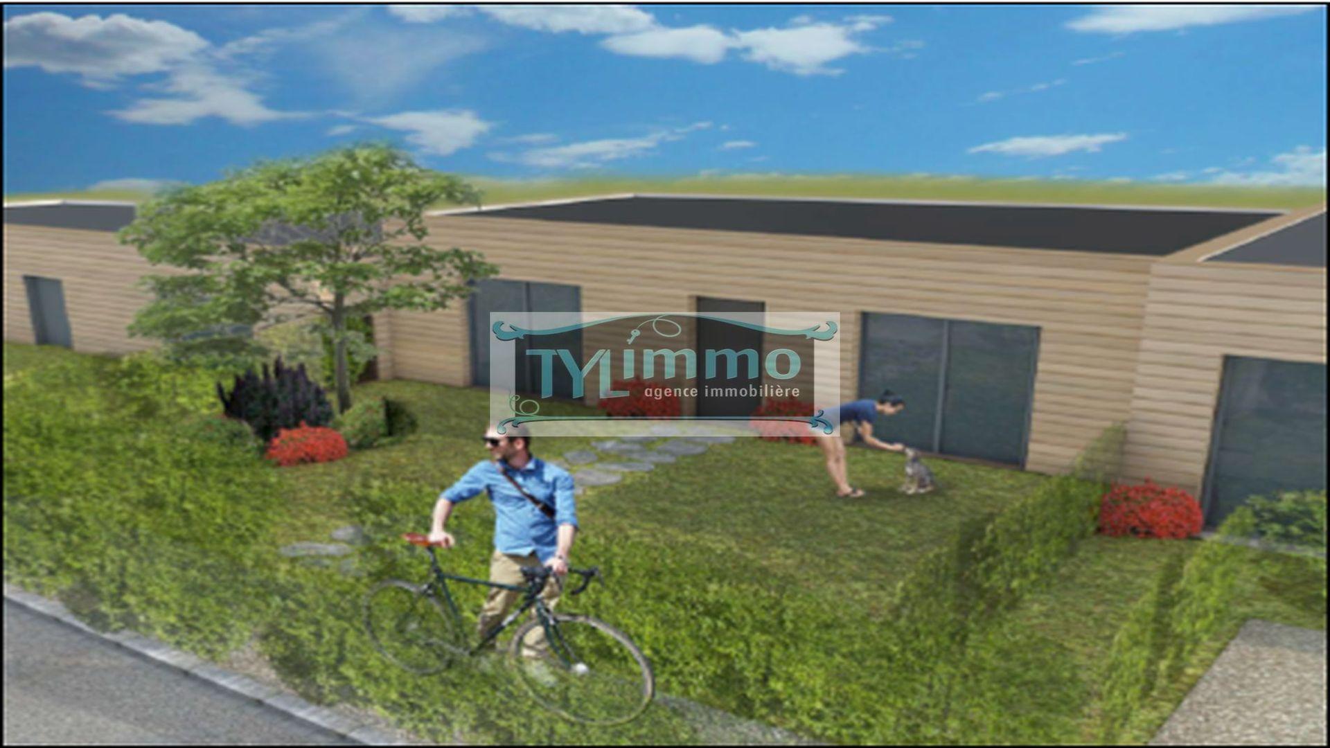 A vendre maison contemporaine f2 45m² mont saint aignan secteur universite