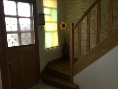 maison entrée lumineuse